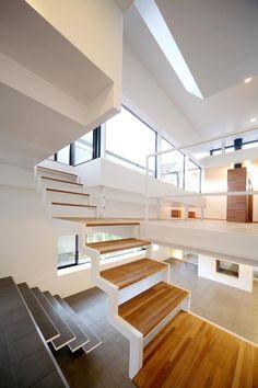 super modern stairs with extraordinary design Interior Ideas