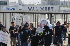 Walmart Contractor Sued For Labor Law Violations  Warehouse workers in California sued a contractor that works with Walmart for labor law violations, including poor labor conditions, shortchanging pay and threatening to fire them for complaining about anything.