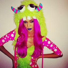 15 Celebs Who Do Halloween Right #refinery29  http://www.refinery29.com/best-fashion-people-halloween-costumes#slide-1  Model Joan Smalls brought it all the way back to the 1989 Fred Savage/Howie Mandel flick Little Monsters....