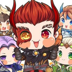 Anime Chibi, Anime Art, Moba Legends, Video Game Companies, Online Battle, Mobile Legend Wallpaper, Cute Dragons, Kawaii Drawings, The Conjuring