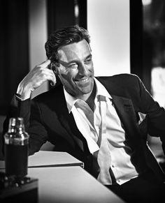 """I've gotten away with a lot in my life. The older you get the more you realize you're not getting away with it, it's taking its toll somewhere. So you try not to put yourself in those situations. Part of the mysterious process called growing up. Some people do that better than others."" - Jon Hamm"
