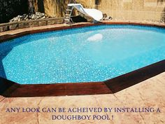 Images Of Buried Doughboy Pools 12x24 Above Ground Pool