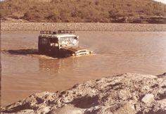 FJ40 River Crossing