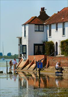 Chichester Harbour, Bosham, West Sussex, England