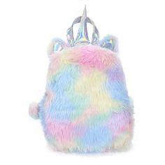 New Fashion Cute Plush Unicorn Rabbit Shaped Cartoon Kawaii Bagpacks Leather Hologram Women Girls School Bags Backpacks Mochila Unicorn Gifts, Cute Unicorn, Rainbow Unicorn, Real Unicorn, Cute Backpacks, Girl Backpacks, Leather Backpacks, Mini Mochila, Unicorn Pattern