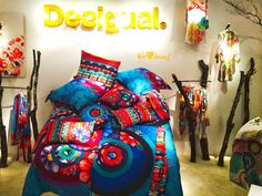 """Desigual at Maison & Objet Paris,France,""""The Bed is Made....."""", pinned by Ton van der Veer"""