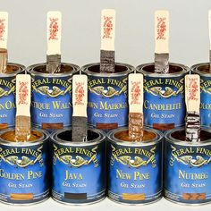General Finishes Gel Stain. You can restore old damaged furniture by usind the General Finishes Gel stain