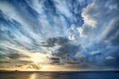 These humid, windy skies in Virgin Gorda made for a tumultuous tableau. Everything would change quite quickly, so it was harder to predict several hours away. But I did have a good feeling about this time in particular… - Virgin Gorda, Caribbean - Photo from #treyratcliff Trey Ratcliff at http://www.StuckInCustoms.com