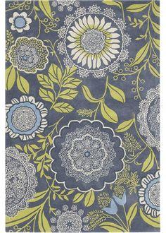 Amy Butler  wool rug