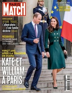 Mace (@RoyaleVision) on Twitter:  Duke and Duchess of Cambridge in Paris, cover of Paris Match, March 23-29, 2017