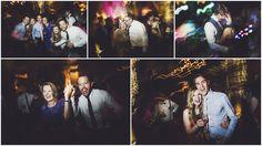 Party time at a wedding at Shustoke Farm Barns