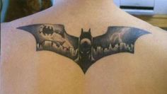 Batman Tattoo #tattoos