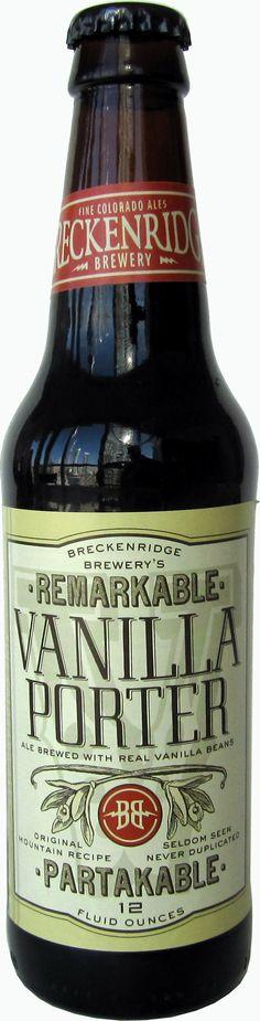 Vanilla Porter Beer - Breckenridge Brewery