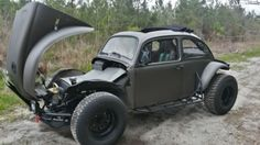 Up for sale is my fully restored and highly modified 1963 Baja Beetle ragtop. I purchased the car in April of 2013 in Alabama. It had already been converted to a Baja and was to far gone to t Fusca Cross, Vw Baja Bug, Goodyear Wrangler, Porsche Parts, Stuck In The Mud, Vw Beetles, Custom Cars, Bad Boys, Sport Cars