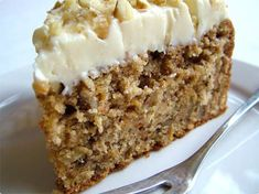 This is delicious carrot cake sweetened with honey. It is also flavored with raisins, orange juice and vanilla. You may use cream cheese frosting as pictured. Use our search engine as we have several versions of this frosting.   In a large mixing bowl, cream margarine until fluffy. Beat in honey in fine stream until […]