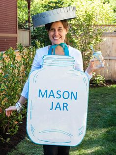 DIY Mason Jar Halloween Costume