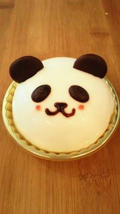 panda cake at Harajyuku Tokyo