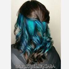 This pin was discovered by natalie myer. Hidden Hair Color, Cool Hair Color, Undercolor Hair, Peekaboo Hair, Hair Color Images, Underlights Hair, Rainbow Hair, Crazy Hair, Hair Dos