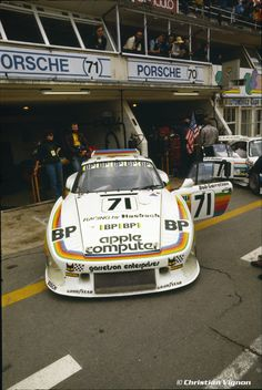 Apple sponsored Garretson Porsche 935 K3