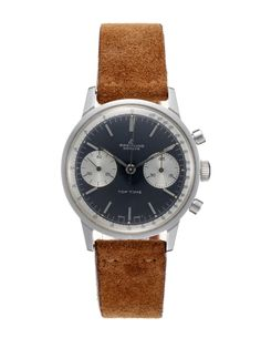 Vintage Breitling Stainless-Steel Top Time (c. 1960s) - Classic and Tough.  Just like me.