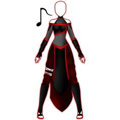 Vulkana's Naruto Outfit by 2050 ❤ liked on Polyvore featuring cosplay and naruto