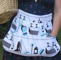 Peg apron - to make hanging out clothes easier (sort of a bag, right?)