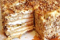 Kinder mliečny rez - rýchly a výborný koláčik bez múky! Tiramisu Trifle, Summer Pudding, Napoleon Cake, Cottage Cheese Recipes, Russian Desserts, Honey Cake, Top 5, No Bake Cookies, Baking Cookies
