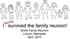90c6907f Fun t-shirt design for the family reunion. Family Reunion Quotes, Family  Tree