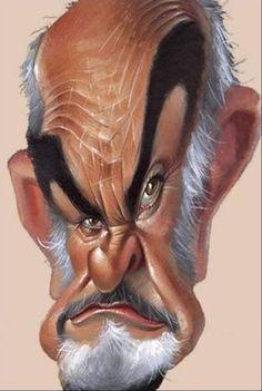 Sean Connery #caricatura