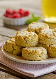 French Delicacies Essentials - Some Uncomplicated Strategies For Newbies Make These Easy Gluten-Free, Dairy-Free, Paleo Biscuits In One Bowl No Rolling Needed. This Paleo Biscuit Recipe Freezes Well. So Put The Rest Of The Batch In The Freezer For Another Paleo Muffin Recipes, Primal Recipes, Gluten Free Recipes, Real Food Recipes, Cooking Recipes, Drink Recipes, Beef Recipes, Dinner Recipes, Gourmet