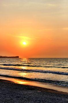 Sunset- Acharavi Beach- Corfu, Greece- holiday blog with photos
