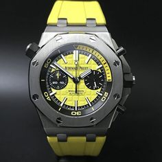 Audemars Piguet Royal Oak Offshore Yellow Diver Chronograph (2017) WA : 628121067189 : 021-7209021 https://mulialegacy.com