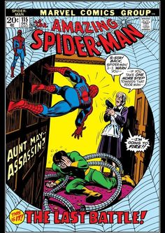 "The Amazing Spider-Man #115 ""The Last Battle!"" (December, 1972)"