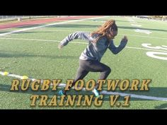Rugby Basic Foot Speed/Agility Training - YouTube