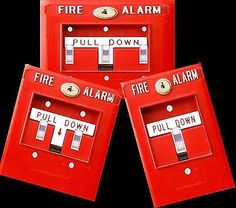 Fire Alarm light switch cover funny Man Cave by HigginsCraftCorner Fireman Room, Firefighter Bedroom, Firefighter Decor, Fireman Nursery, Man Cave Diy, Man Cave Home Bar, Guy Pictures, Bedroom Lighting, Light Switch Covers