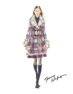 Tommy Hilfiger Fall 2015 Sketch