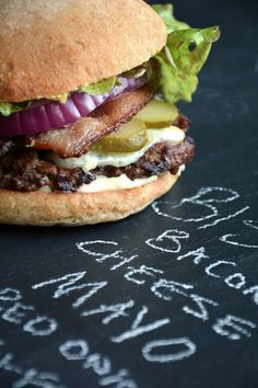 The Perfect Grilled Bison Burgers Recipe