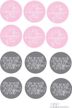I am a Daughter of God free printable Daughters Of The King, Daughter Of God, Girls Camp, Activity Days, Relief Society, Godly Woman, Bible Lessons, Christian Women, Women's Ministry