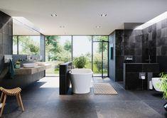 Homeplaza: Badgestaltung - Intelligente Profile ohne Bohren anbringen (Foto: epr/Schlüter-Systems) Bathtub, Bathroom, Bologna, Halle, Motto, September, Led, Google, Home And Garden