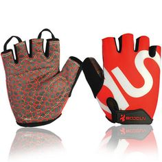 Boodun Brand New Professional Weight Lifting Half Finger Glove With Extended Wristband For Workout Gym Fitness Riding Climbing Cleaning The Oral Cavity. Sports & Entertainment