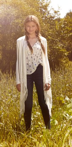 a soft & cozy long duster cardigan is a style to <3 this autumn!