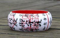 Armreifen KYOTO Kinkakuji Ticket Zen Tempel Japan von PappLePapp auf Etsy