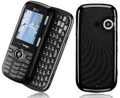 New Verizon LG VN250 VN 250 Cosmos Black Smart Cellphone