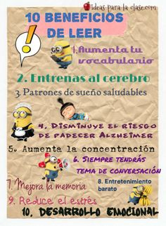 10 beneficios de leer