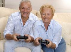 Videogames for Seniors Boost Brainpower - http://www.snapfon.com/blog/videogames-for-seniors-boost-brainpower/