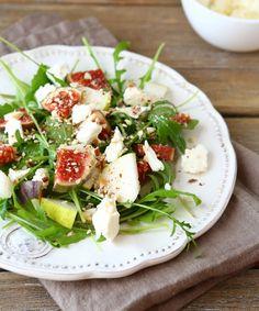 Recette salade de figues à la feta - Marie Claire