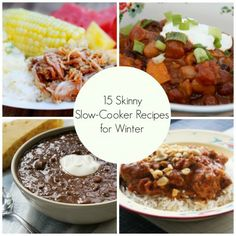 15 Skinny Slow Cooker Recipes