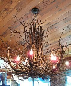 Twig Chandelier Tutorial