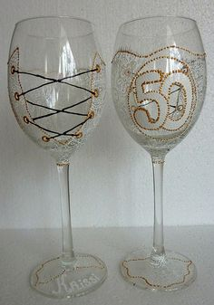 Hand Painted to Order Wine or Champagne glass, Flute £15.99 please contact me at: www.facebook.com/alenaglass