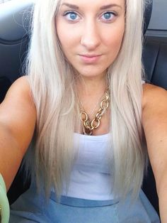Rare white platinum human hair extensions full set warriors laura wearing our platinum white blonde extensions in what a perfect match click the photo to see the product on our website remy human hair extensions pmusecretfo Gallery